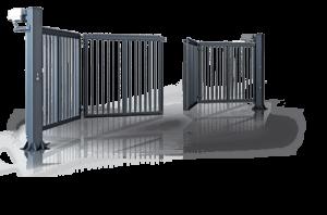 susilankstantys kiemo vartai
